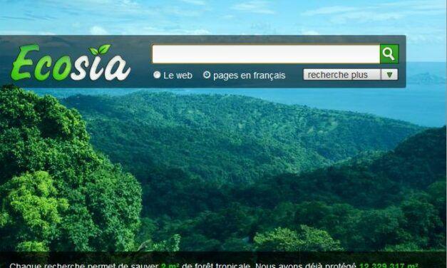 Ecosia: Adoptez un nouveau moteur de recherche écolo!