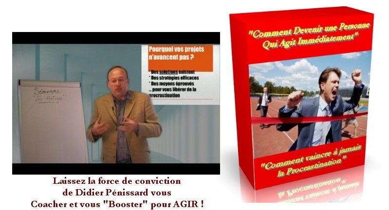 Didier Pénissard, spécialiste du développement personnel, lance une méthode pour vaincre la procrastination