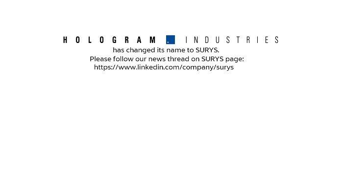 Marché de la sécurité informatique: la firme Française Hologram veut confirmer sa présence aux Etats-Unis