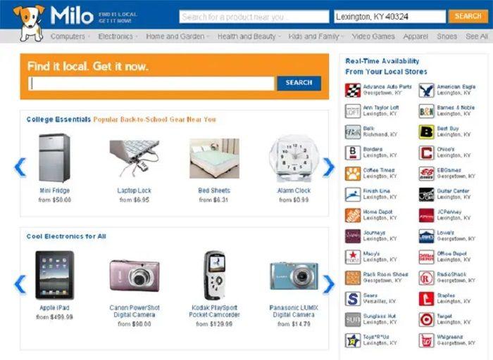 E-Commerce: Ebay acquiert Milo.com, pour bénéficier de son expertise en E-shopping