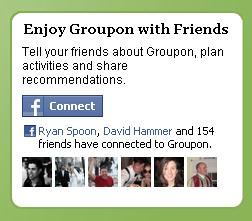 facebook groupon