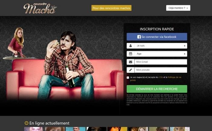 Rencontres par affinités: lancement de rencontre-macho.com, le site pour trouver votre homme macho…