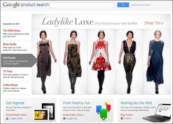 E-Commerce: Google abandonne son site boutiques.com