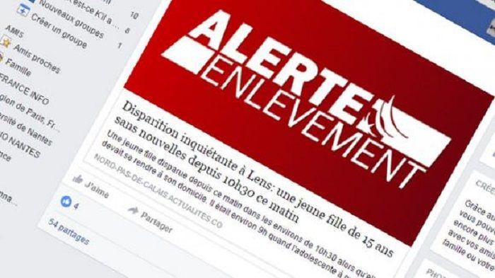 Réseaux Sociaux: L'alerte enlèvement sera mise en place mardi prochain sur Facebook