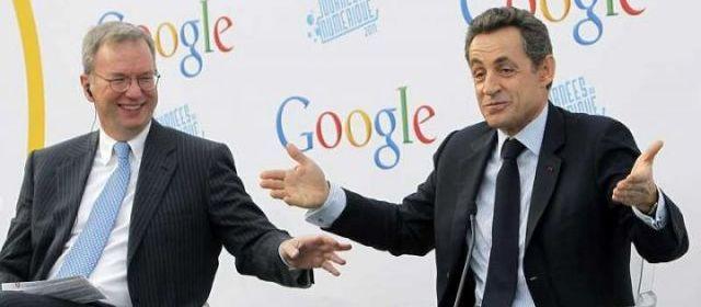 sarkozy google