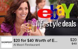 Stratégies: Avec Lifestyle, Ebay va tenter de contrer Groupon sur le marché des deals