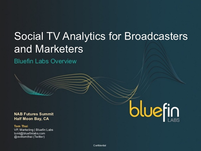 Réseaux Sociaux: Twitter rachète Bluefin Labs, un spécialiste de la tv sociale