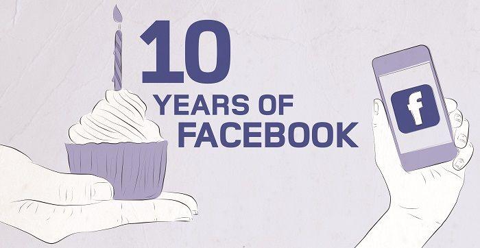 Réseaux sociaux: les chiffres clés des 10 ans de Facebook