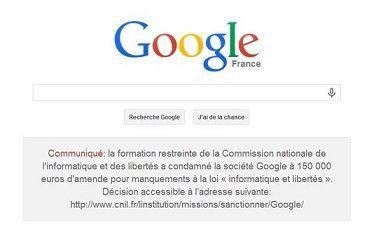 google accueil
