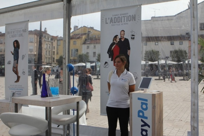Paypal choisit Nancy comme ville teste pour le paiement par mobile en magasin