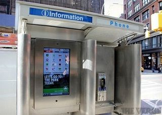 Insolite: New York va transformer ses cabines téléphoniques en bornes wifi