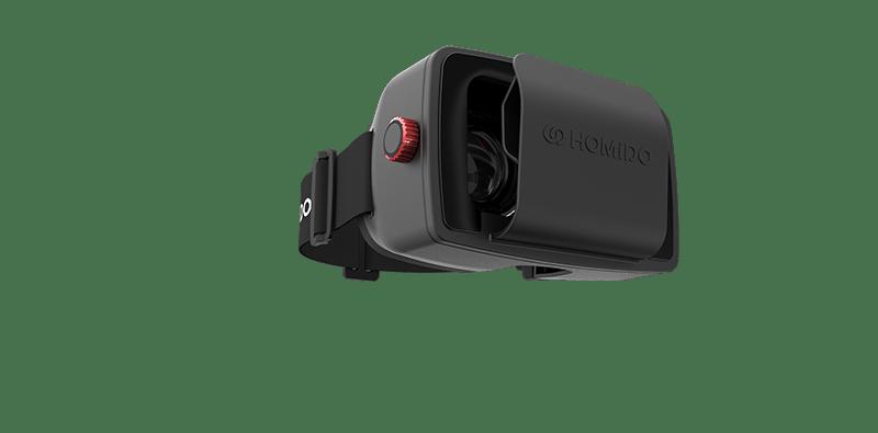 Découvrez la réalité virtuelle sur votre smartphone grâce à Homido
