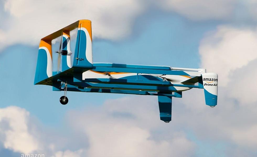 Amazon trouve un accord avec le gouvernement Britannique pour tester ses drones de livraison
