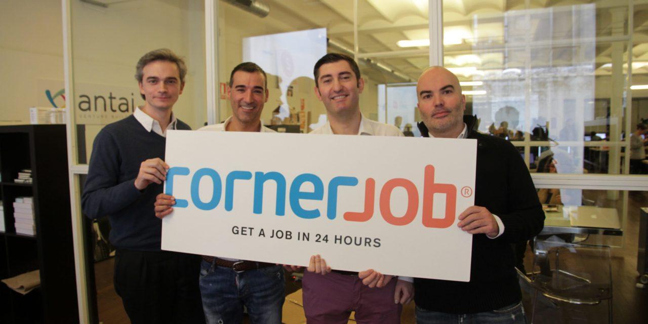 La start-up de l'emploi Cornerjob lève 25 millions de dollars pour son expansion à l'international