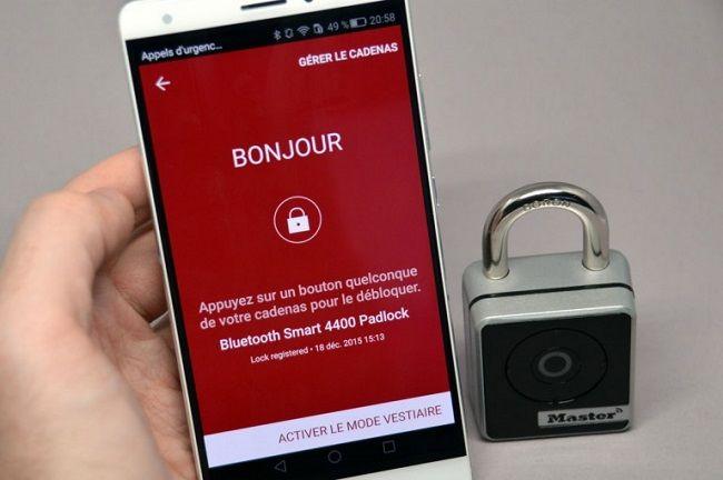 interaction cadenas smartphone