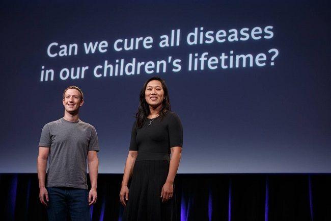 Mark Zuckerberg et Priscilla Chan font un don de 600M$ pour leur centre de recherche Biohub