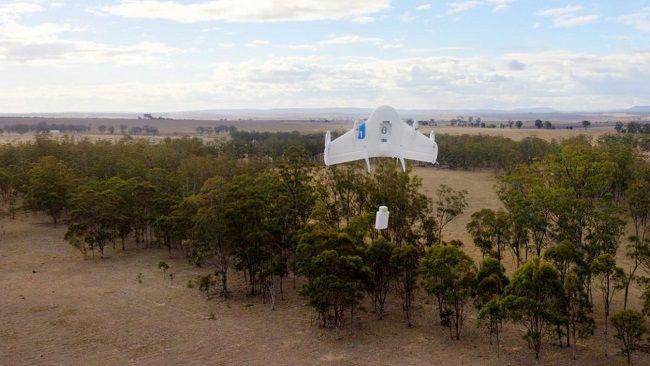 Google va tester la livraison de burritos par drones