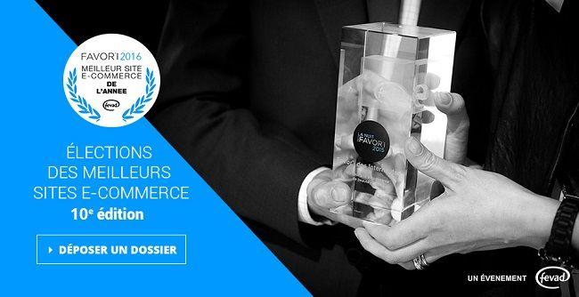 Serez-vous le meilleur espoir du e-commerce avec le concours Favori 2016 ?