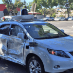 La Google Car a été victime d'un nouvel accident de la route