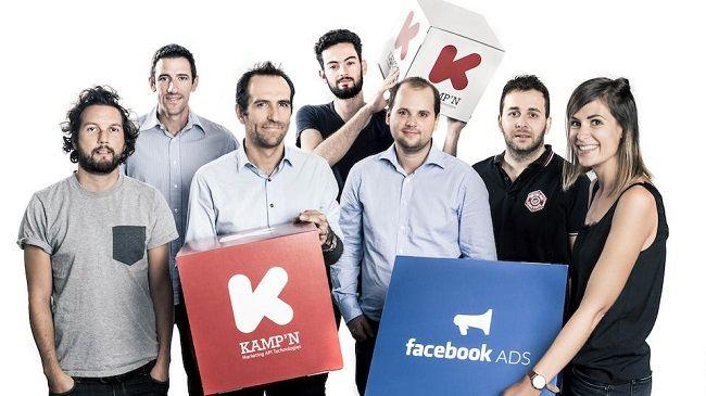 La start-up Kamp'n lève 1 million d'euros pour accélérer sa croissance