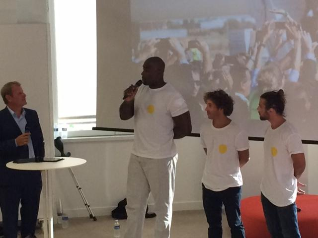 Teddy Riner lance sa start-up Yogowo