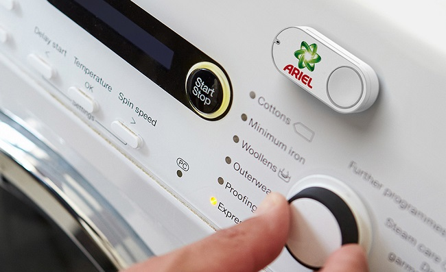 Les Amazon Dash Buttons sont lancés en France par Amazon