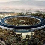 Le prochain campus d'Apple: Une véritable forteresse vue par un drone