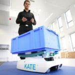La start-up Exotec Solutions lève 3,3 millions d'euros pour améliorer la logistique des e-commercants