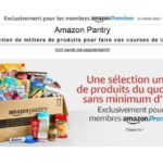 Amazon lance Pantry en France pour les clients Premium