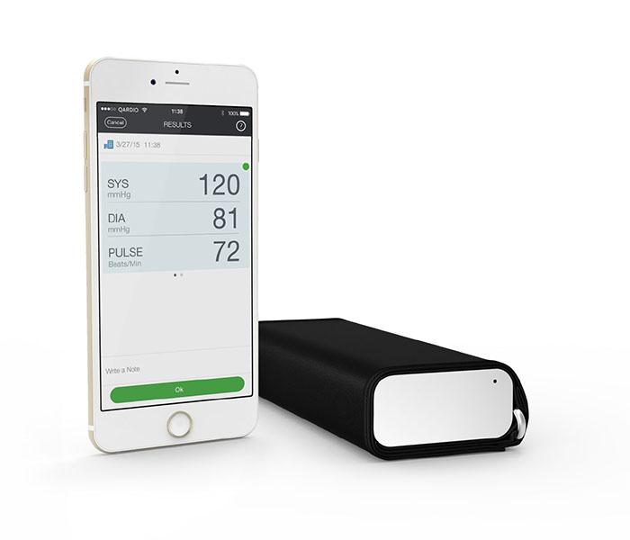 Qardioarm, le nouveau tensiomètre connecté pour un suivi cardiaque facile