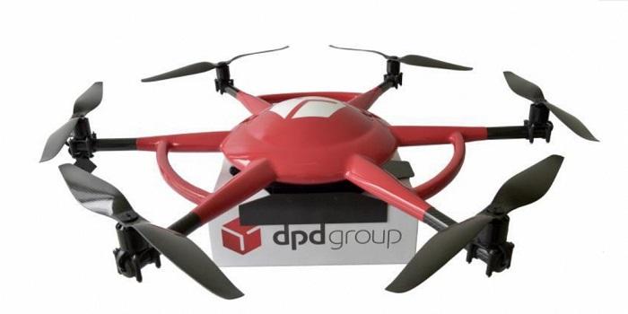 La poste livre ses permiers colis par drones!