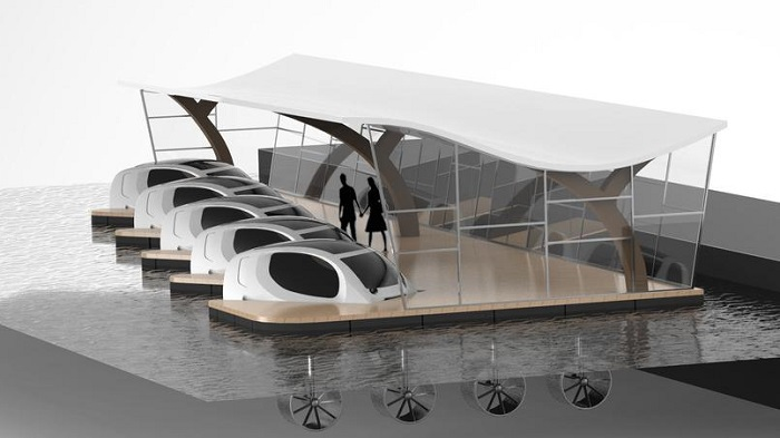 Seahubble et ses voitures volantes lève 3 millions d'euros auprès de la MAIF