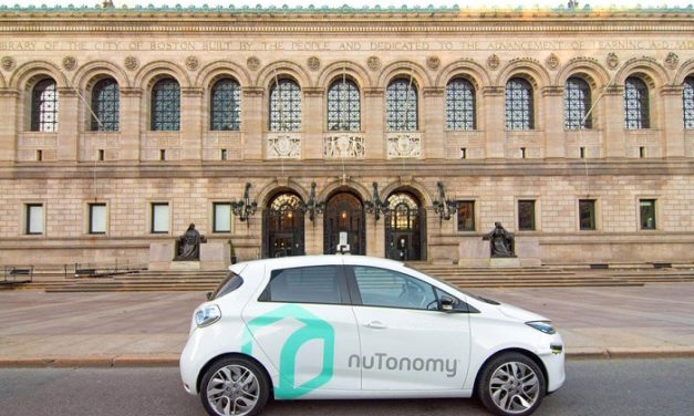 La start-up NuTonomy teste une Renault Zoe autonome à Boston
