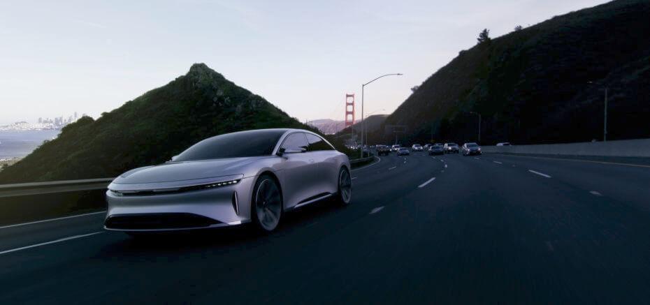 Le concurrent de Tesla Lucid Motors vendera son modèle à 60 000 dollars