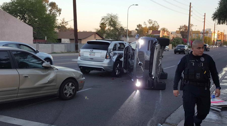 uber crash