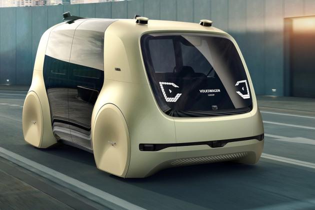 [Vidéo]: Sedric de Volswagen, le concept car autonome présenté au salon de Genève