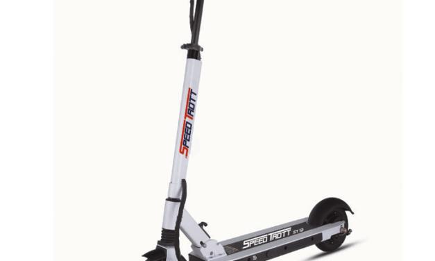 Speedtrott ST12: La trotinette électrique pour des déplacements faciles et rapides!