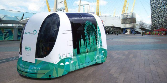 Londres va tester un bus autonome Oxbotica en grandeur nature
