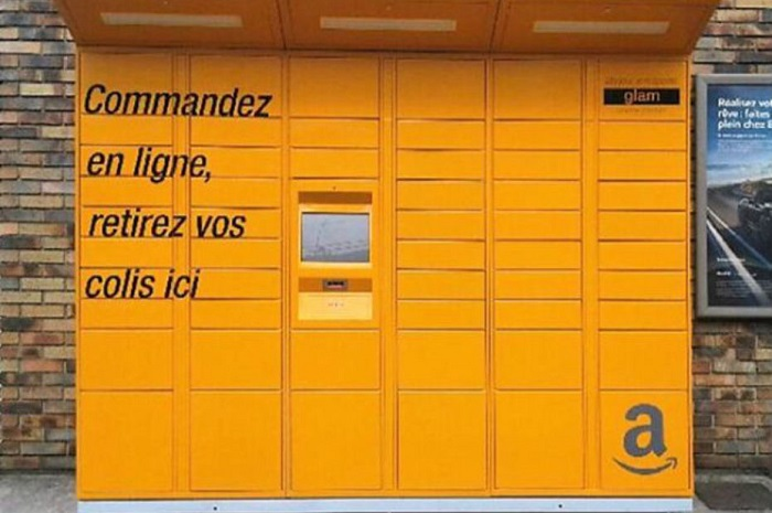"E-Commerce: Amazon lance en France les casiers ""Amazon Lockers"""