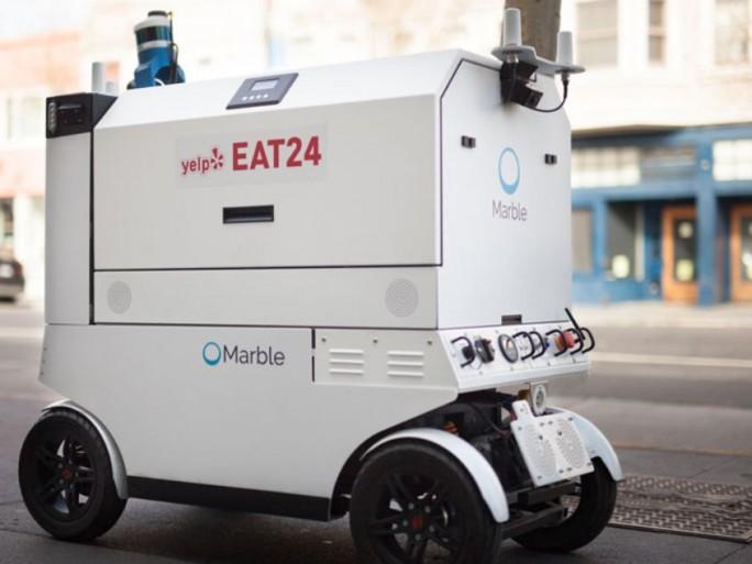 [Vidéo]: A San Fransisco, des robots livrent des repas…
