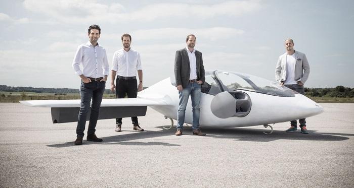 La start-up Allemande Lilium lève 90 millions de dollars pour lancer ses taxis volants