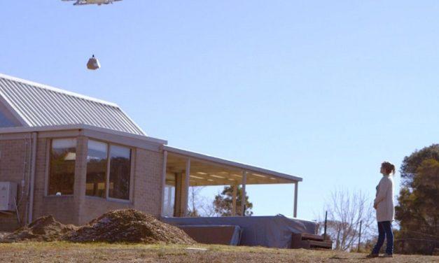 [Vidéo]: Google poursuit ses tests de livraison par drône en Australie