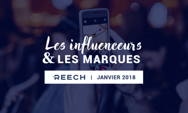 Infographie: L'interaction entre marques et influenceurs en 2018