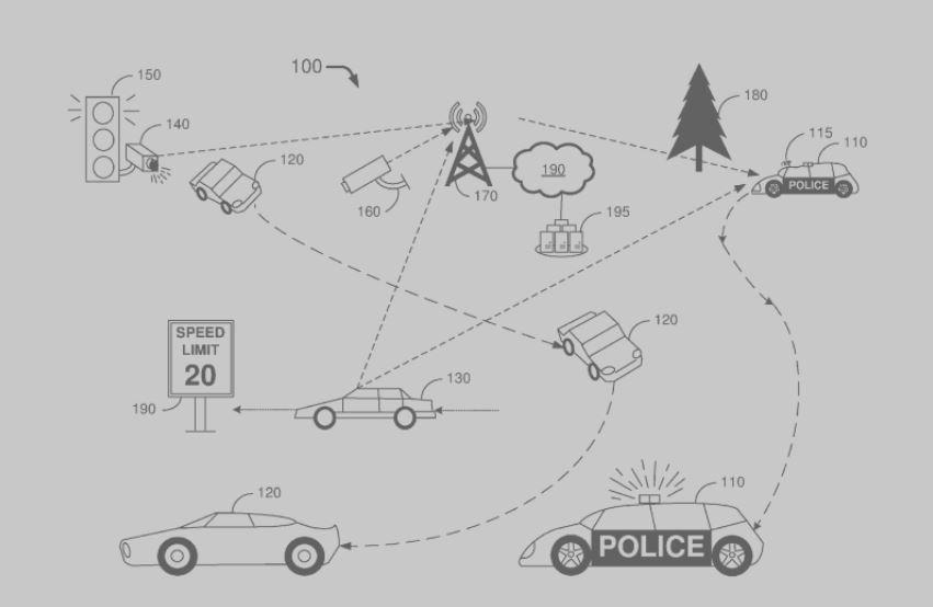 voiture-de-police-autonome-brevet