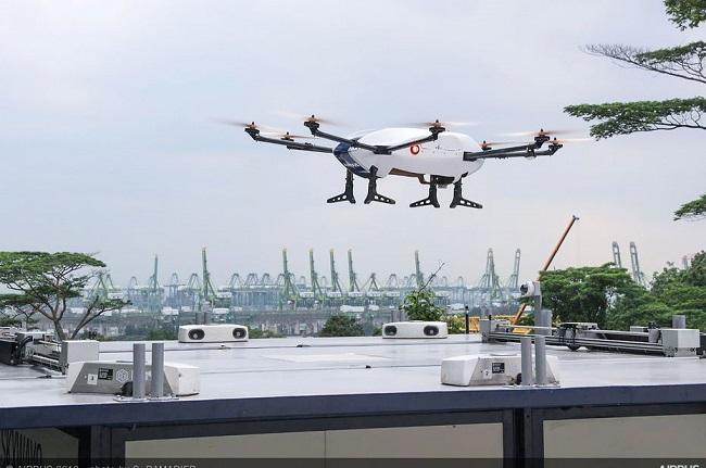 [Vidéo]: Airbus fait une démonstration de force avec son drone de livraison autonome