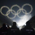 [Vidéo]: Aux JO de Pyeongchang , les drônes d'Intel font une démonstration de force