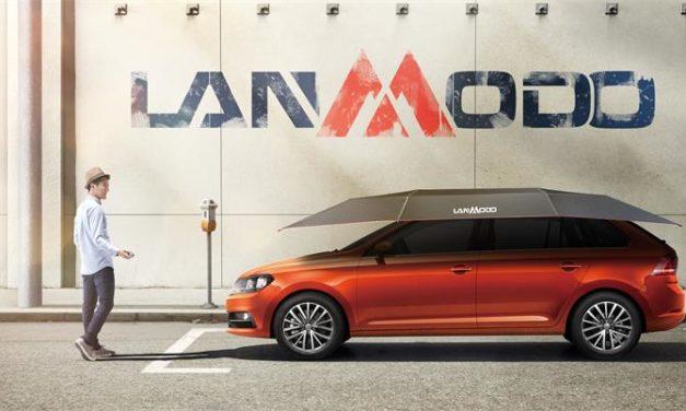 Votre voiture aura désormais son parapluie, et il s'appelle Lanmodo