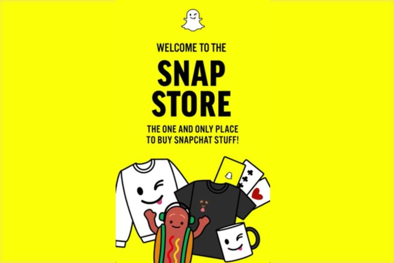 Snapchat initie une section ecommerce dans son application