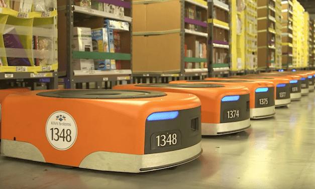 La France voit arriver les robots «travailleurs» d'Amazon pour la première fois