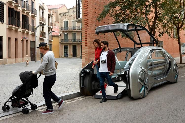 [Vidéo]: Renault présente EZ-Go, un concept de robot véhicules de niveau 4